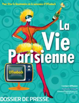 La Vie parisienne / création Jacques Offenbach
